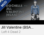 Jill Valentine (BSAA) Replaces Rochelle