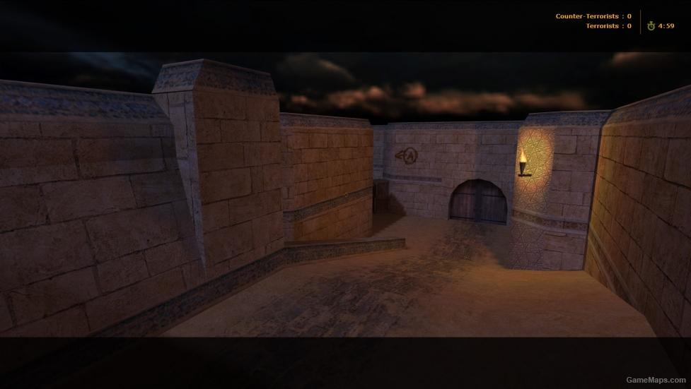 De Dust2 Night Counter Strike Gamemaps