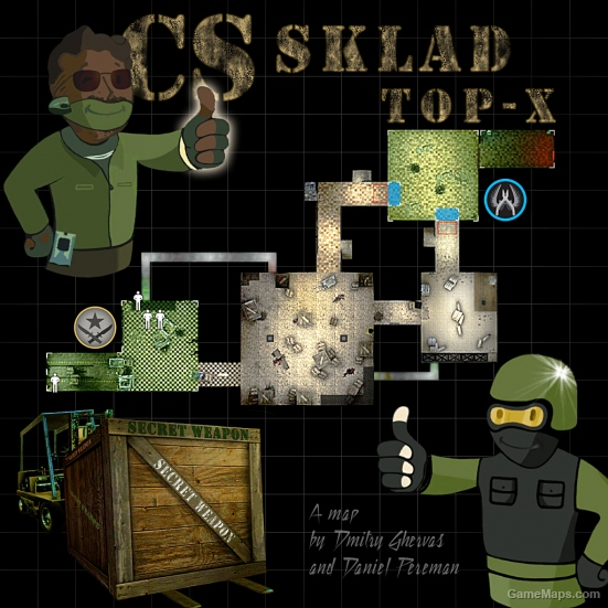 CS_Sklad_Top-X (CS:GO version) (Counter-Strike : Global Offensive