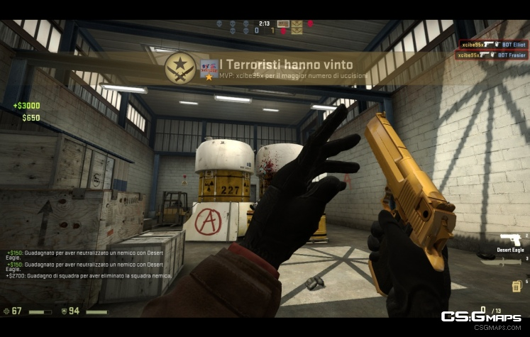 Golden Desert Eagle Counter Strike Global Offensive