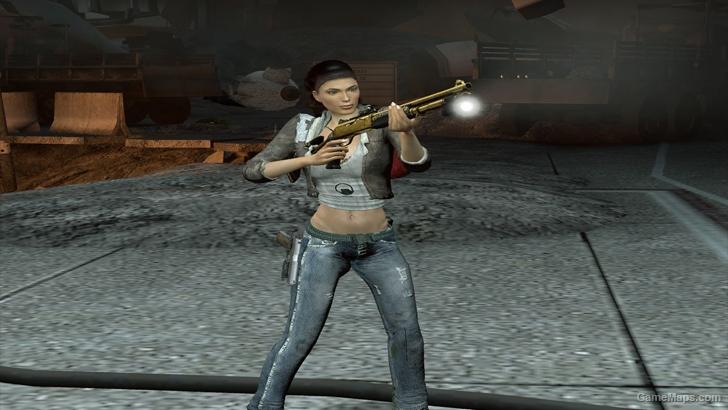 L4D1 Alyx Fakefactory replaces Zoey (Left 4 Dead) - GameMaps