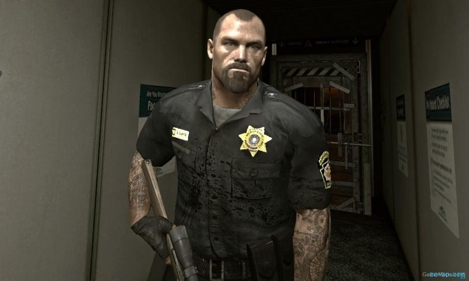 officer francis  left 4 dead