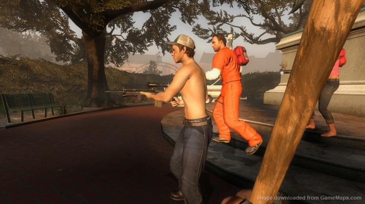 Nick reskin (Left 4 Dead 2) - GameMaps