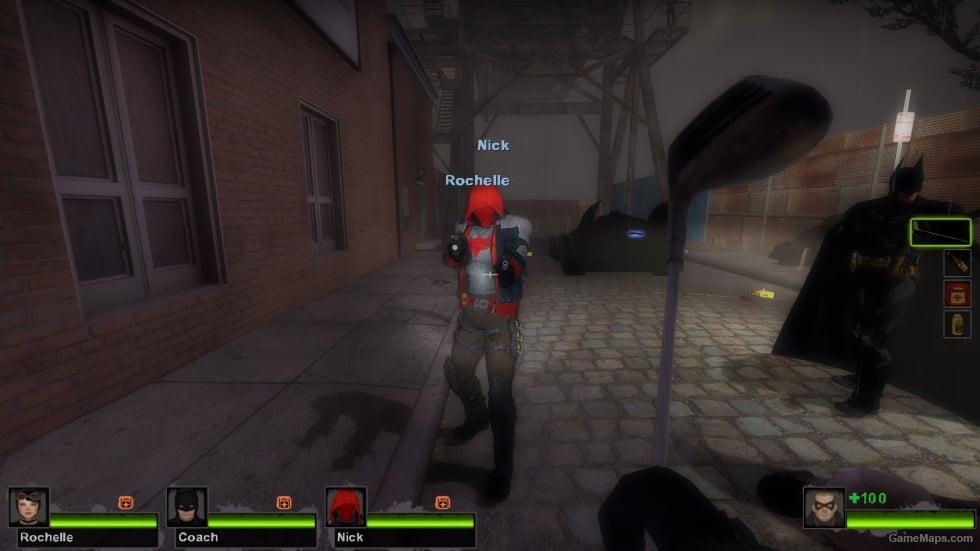 Batman: Arkham Knight Red Hood (Left 4 Dead 2) - GameMaps