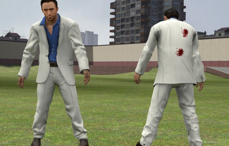 Frank West suit for Nick - Clean (Left 4 Dead 2) - GameMaps