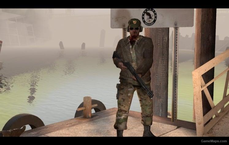 Camo Pilot for Nick (Left 4 Dead 2) - GameMaps