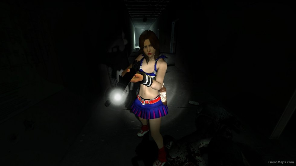 Cheerleader Zoey Left 4 Dead 2 - Gamemaps-4014