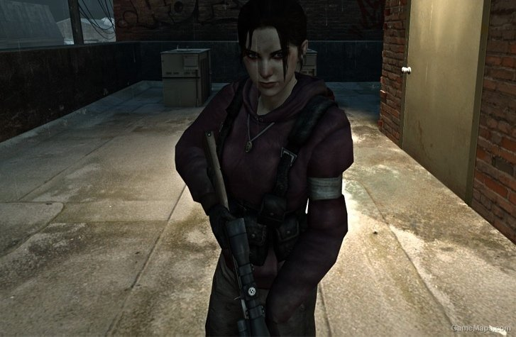 Default Zoey With Beta Outfit Left 4 Dead 2 Gamemaps