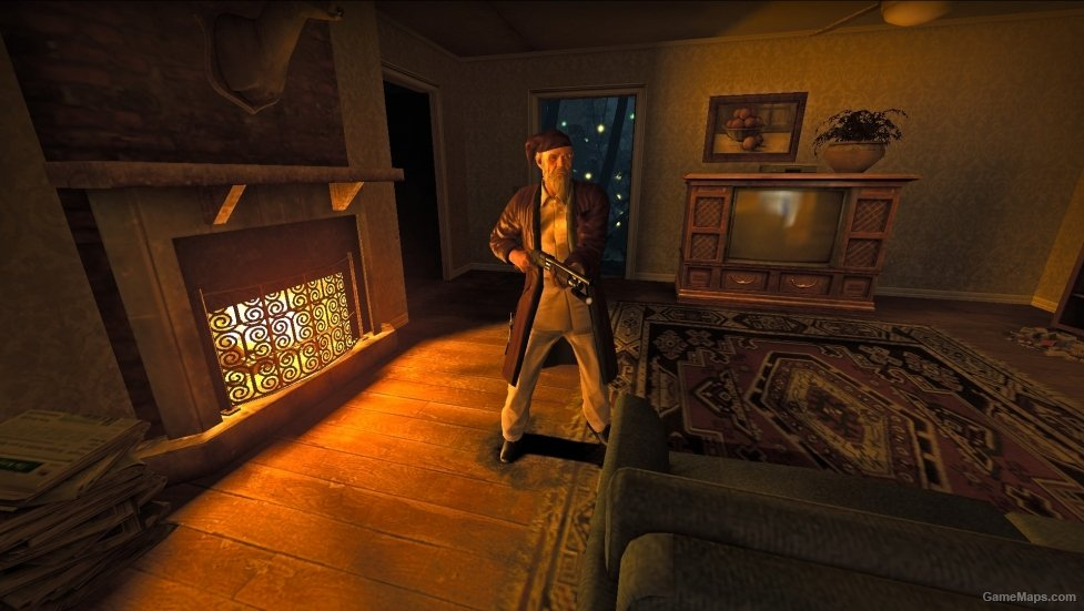 Ebenezer Scrooge Left 4 Dead 2 Gamemaps