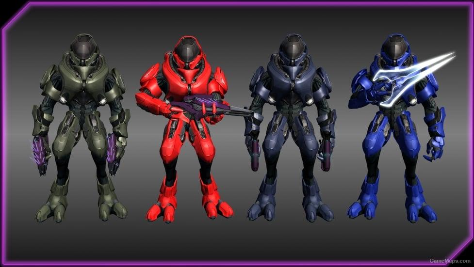 Elite Ranger PACK (Halo REACH) BOTH (Left 4 Dead 2) - GameMaps