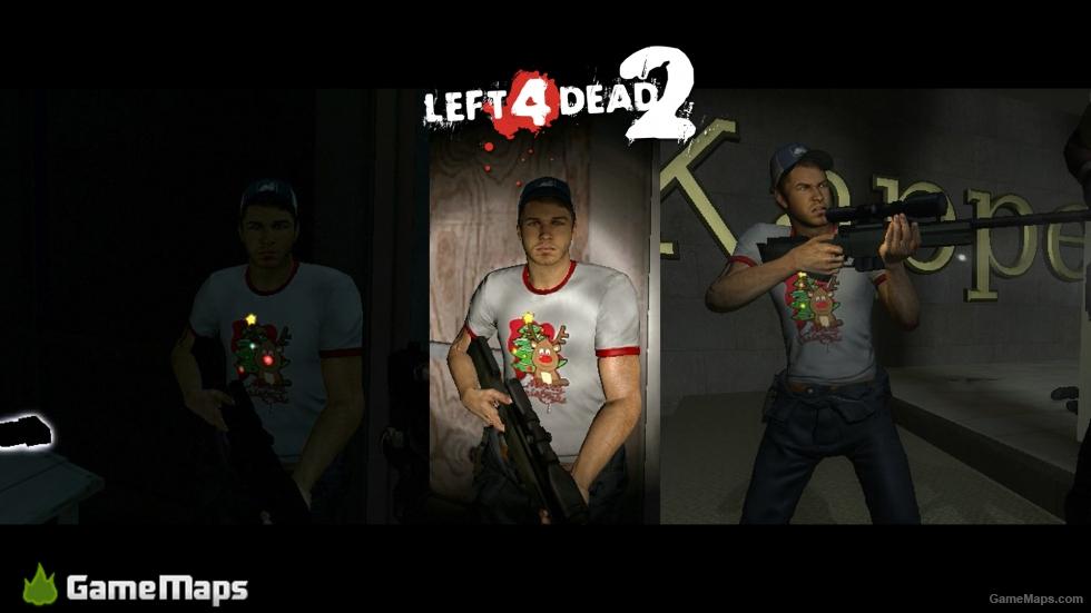 Ellis Merry Christmas (Left 4 Dead 2)