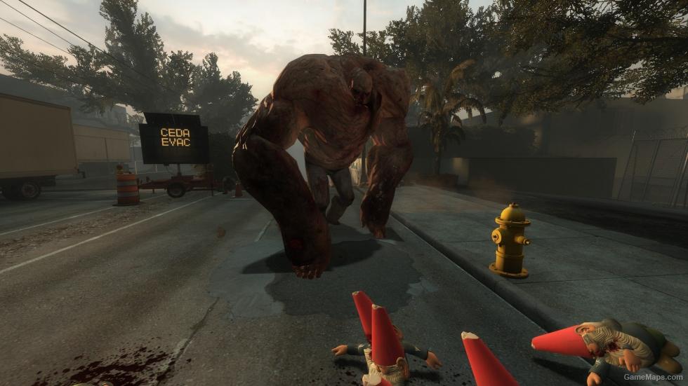 Bring A Trailer >> Giant Tank (Left 4 Dead 2) - GameMaps