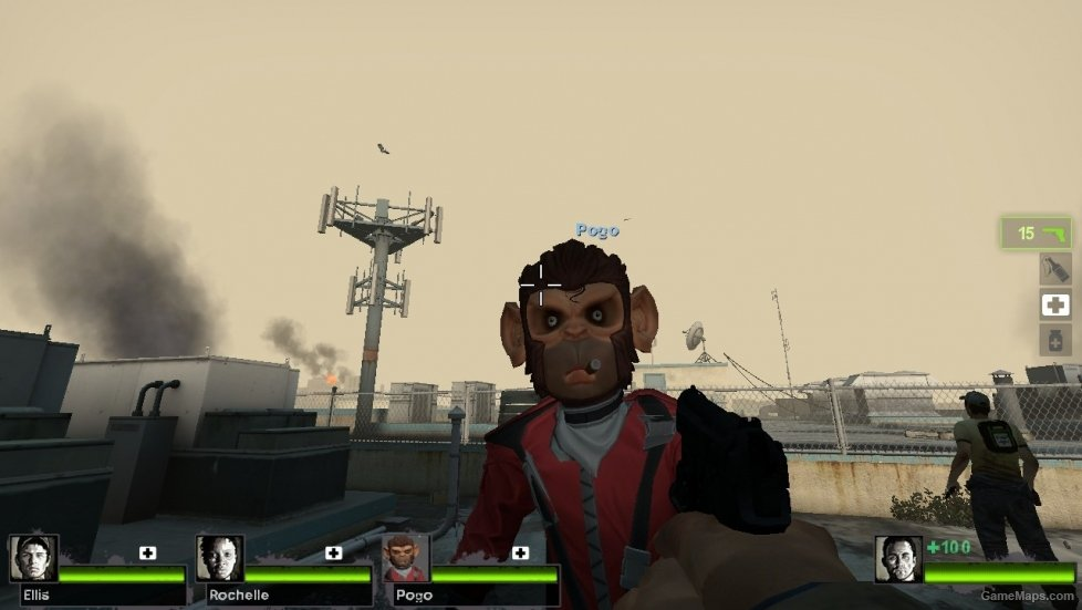 GTA 5 Pogo The Monkey (Coach) (Left 4 Dead 2) - GameMaps