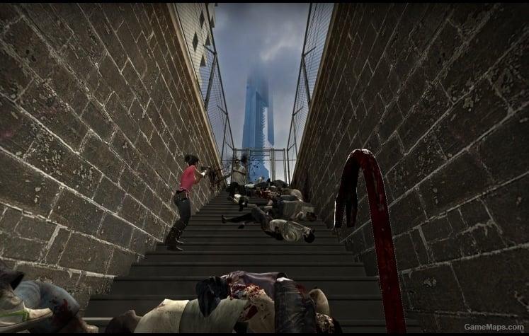 half-life 2  route kanal  left 4 dead 2