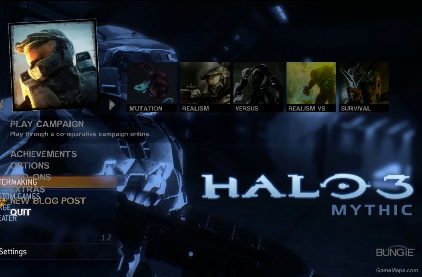 Halo 3 Mythic Menu (Left 4 Dead 2) - GameMaps