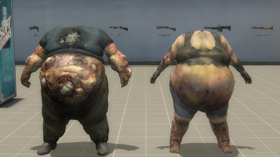 Headless Boomer And Boomette Left 4 Dead 2 Gamemaps