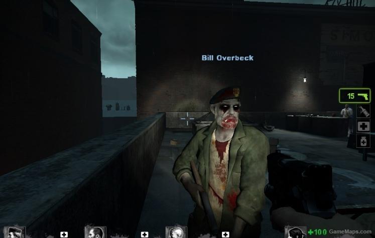 Infected Bill  Left 4 Dead 2