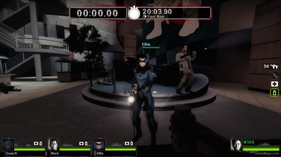 Injustice Gods Among Us Nightwing Fixed Left Dead GameMaps - Injustice god among us buttom map