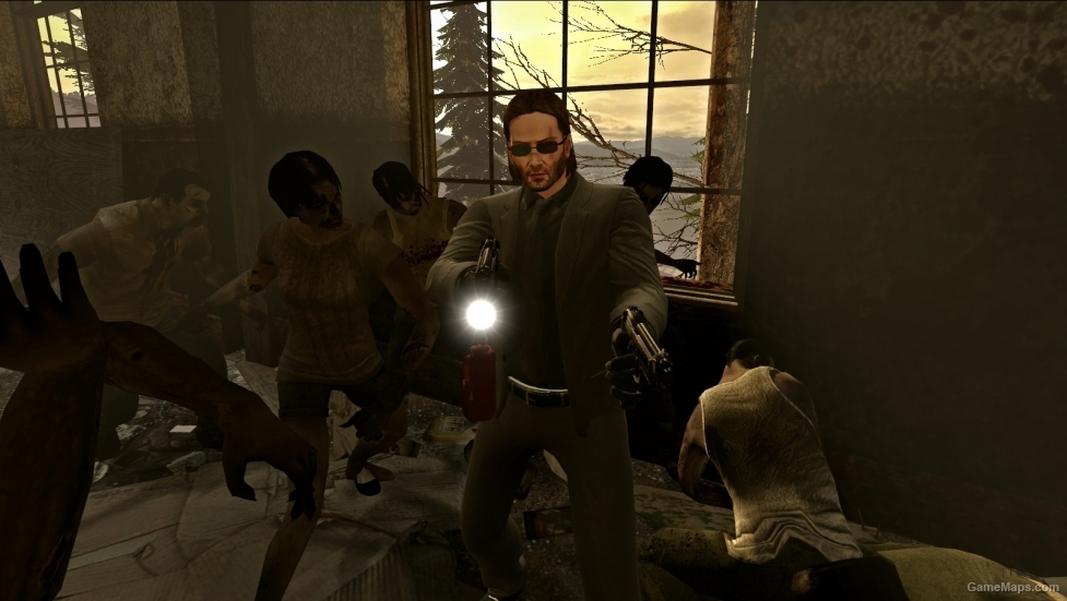John Wick (Left 4 Dead 2) - GameMaps