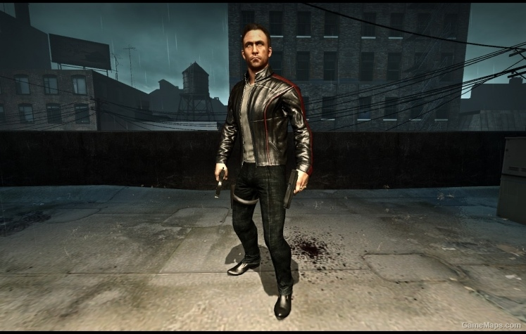 Leather Jacket Nick Replaces Bill Left 4 Dead 2 Gamemaps