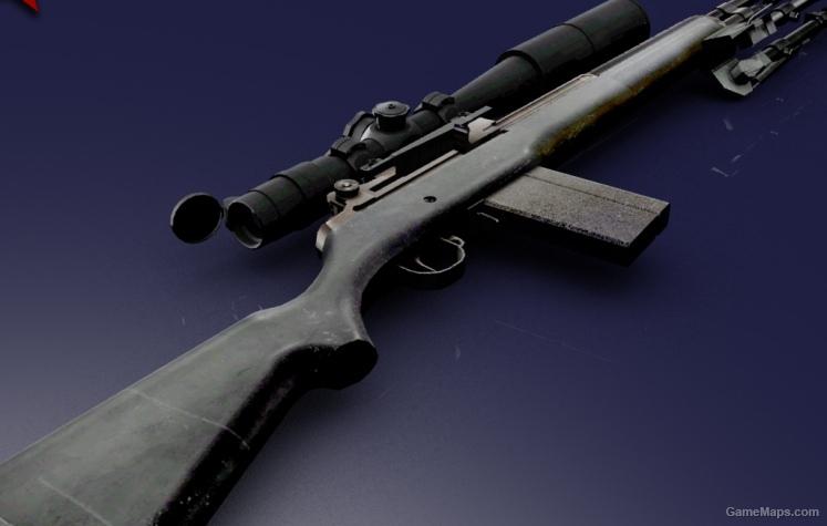 M14 Tactical (Left 4 Dead 2) - GameMaps M14 Tactical