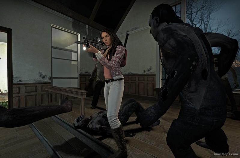 Megan Fox - Transformers (Left 4 Dead 2) - GameMaps