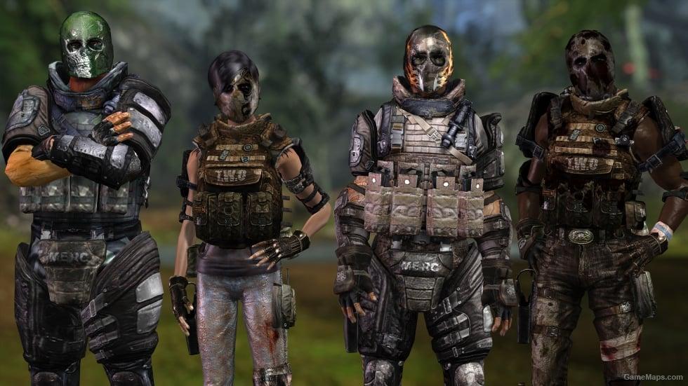 Mercenary Pack Aot L4d2 Left 4 Dead 2 Gamemaps