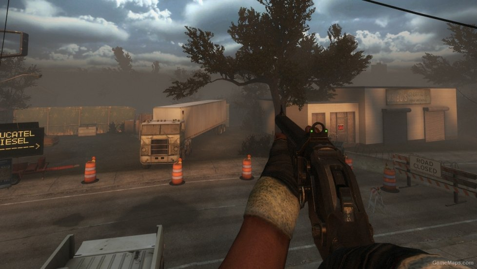 MW3 M1887 (Chrome Shotgun) (Left 4 Dead 2) - GameMaps