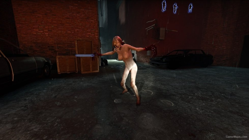 Naked girls from the workshop witch Nude Witch Original Left 4 Dead 2 Gamemaps