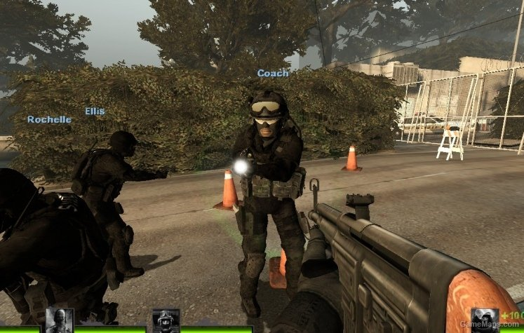 police swat survivors  updated   left 4 dead 2