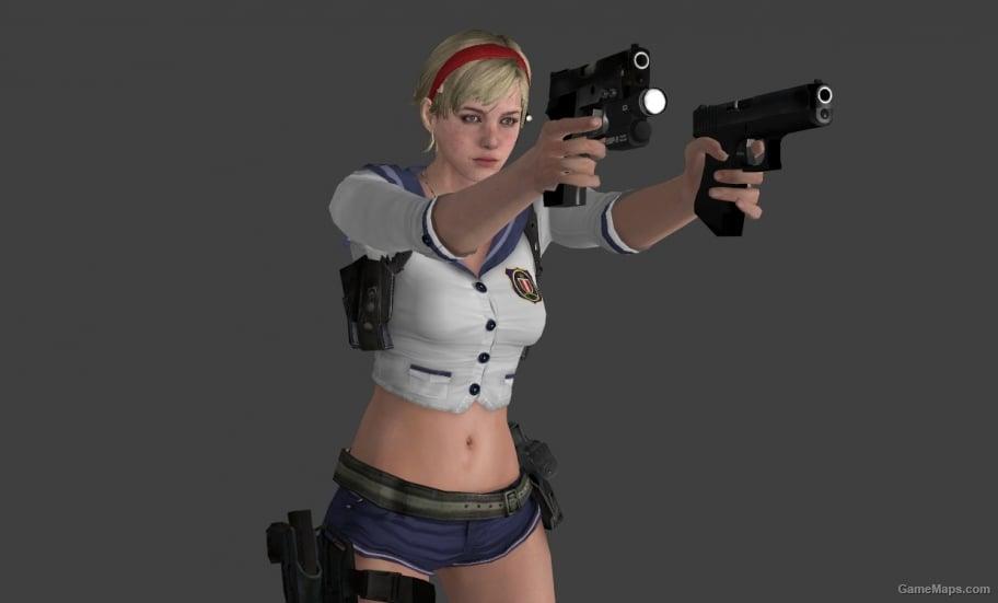Resident Evil 6 Helena Sexy Body