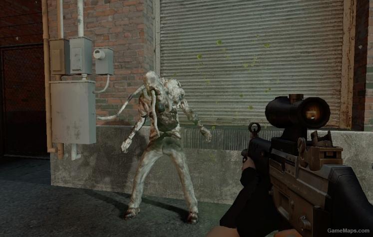 Silent Hill Infected Left 4 Dead 2 Gamemaps