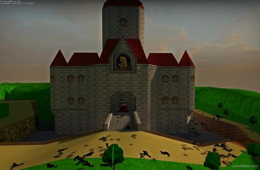 Super Mario 64 Castle Left 4 Dead 2 Gamemaps