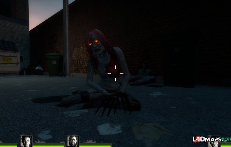 Left 4 Dead 2 Witch move - YouTube