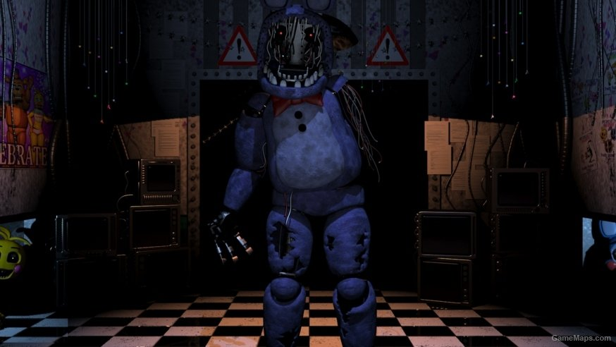 withered bonnie charger  left 4 dead 2