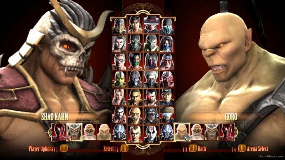 Mortal kombat ultimate edition