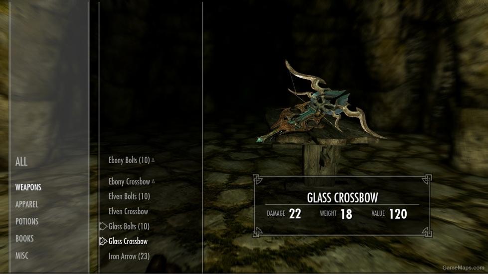 skyrim how to make a crossbow