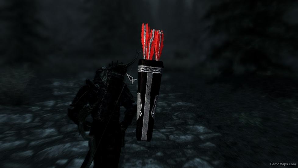 Daedric Arrow (Skyrim) | Elder Scrolls | FANDOM powered by ... |Daedric Arrows