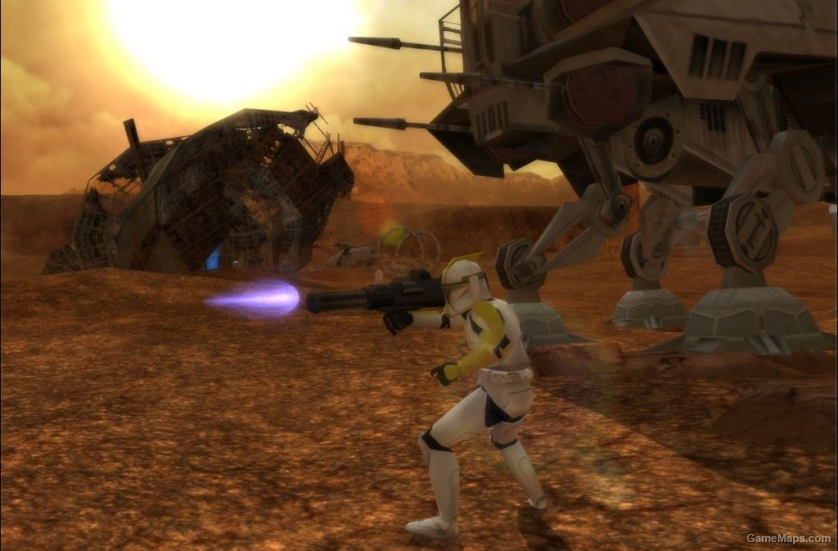 Geonosis Spire Star Wars Battlefront 2 Gamemaps