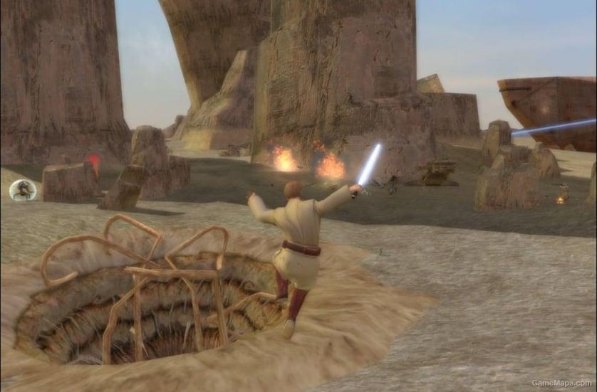 Tatooine Dune Sea Star Wars Battlefront 2 Gamemaps