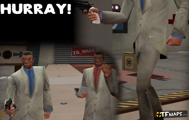 Nick As Spy In Left 4 Dead 2  Team Fortress 2