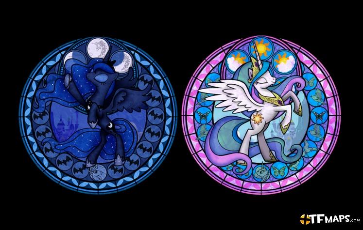 princess luna amp princess celestia pyro resupply team