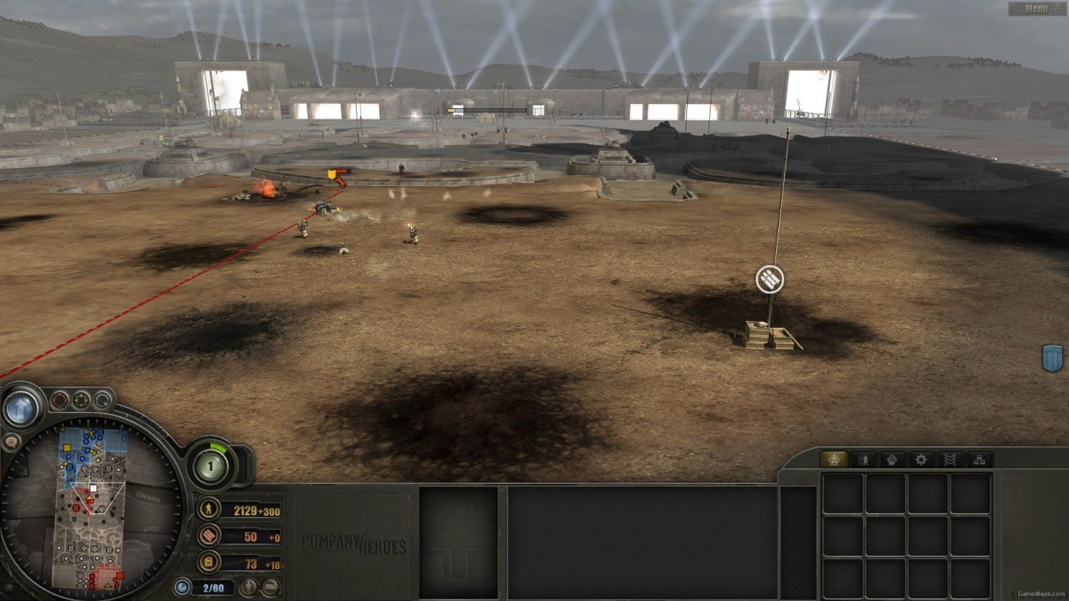 4p Trench Warfare Company Of Heroes Gamemaps