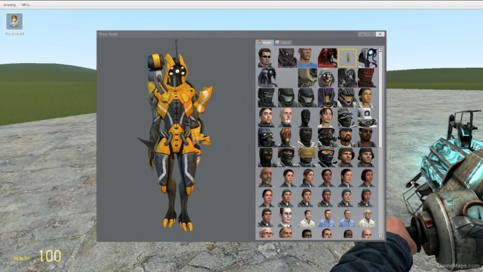 Mass Effect 3 Geth Playermodels (Garry's Mod) - GameMaps