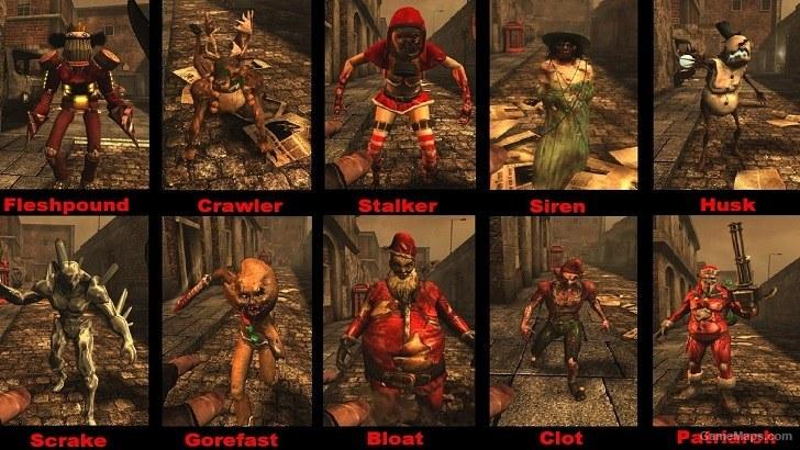 Event Zeds Circus Halloween Xmas Redneck Killing Floor Gamemaps