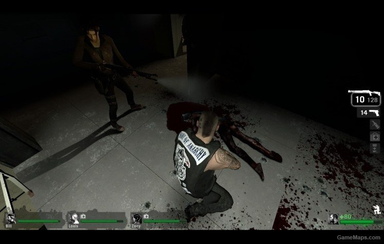 Blood Stained Witch Left 4 Dead Gamemaps