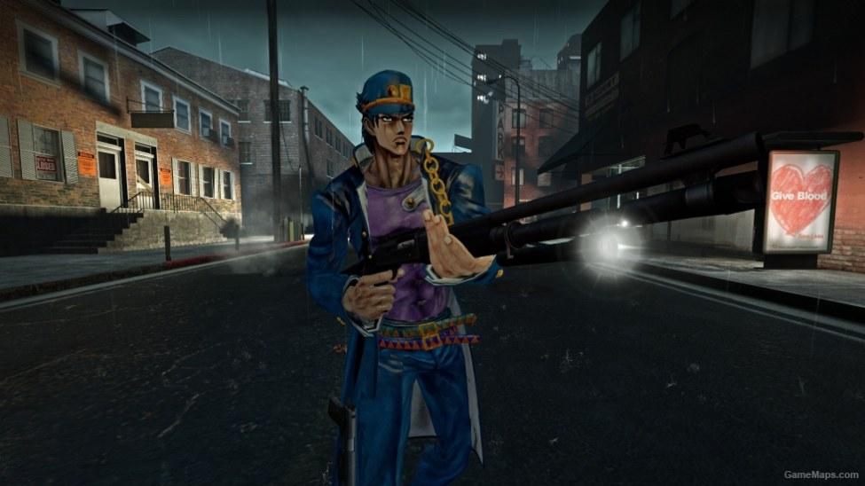 Jotaro Kujo (Bill) (Left 4 Dead) - GameMaps