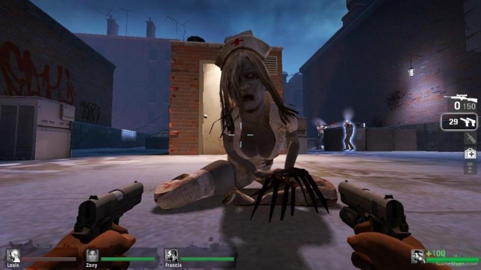 L4D1-Nurse Witch (Left 4 Dead) - GameMaps