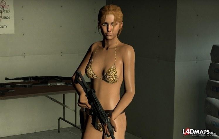 Left 4 Dead Zoey Bikini