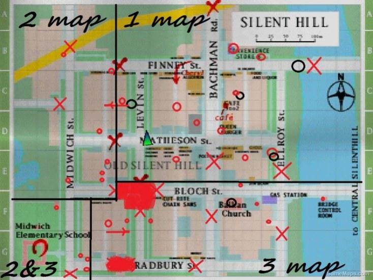 Silent Hill Left 4 Dead Gamemaps